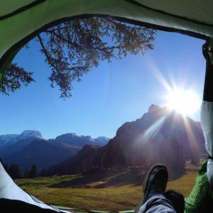 Camping Holiday Makers Camp